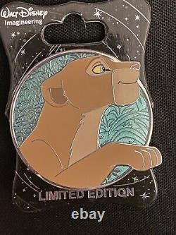 Walt Disney Imagineering Cast WDI Heroines Profile Lion King Nala Pin Le 250 Htf