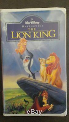 Walt Disney The Lion King Black Diamond Masterpiece Collection