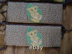 X 2 Rare Lion King Nursery Bumpers For Cot 1 Mobile & 1 Nappy Stacker Rare