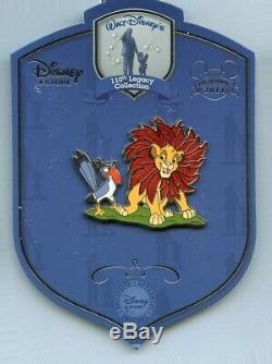 110e Walt Disney Héritage Zazu Simba Ne Pouvez Pas Attendre D'être Roi Lion Le 250 Pin