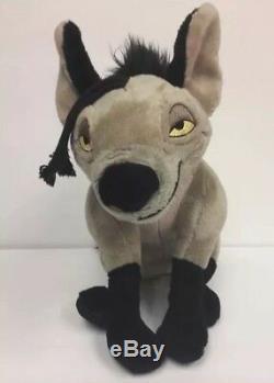 14 Disney Store Authentique Hyène Roi Lion Ed, Shenzi, Banzai Peluche Lot De 3