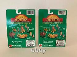 1994 Mattel Disney Le Roi Lion Collectible Figures Ensemble De 10 Cercle D'amis