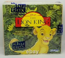 1994 Skybox The Lion King Series 1 Scelled 10 Box Case 360 Packs Psa