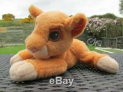 1998 Mattel Disney Le Roi Lion Pride Simba Kiara Ronronnement Doux En Peluche