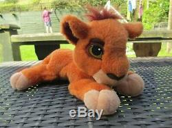 1998 Mattel Disney Le Roi Lion Pride Simba Kovu Ronronnement Doux En Peluche
