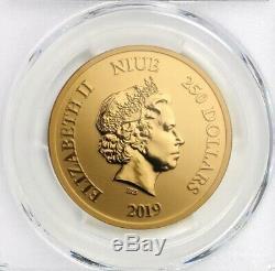 2019 Disney Le Roi Lion 1 Oz Gold Coin (seulement 250 Exist!) 1% D'autres Pièces Disney