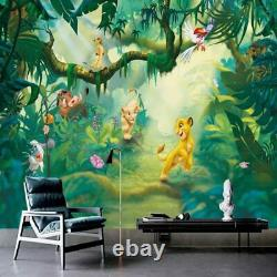 3d Disney Lion King Simba Wall Mural Fond D'écran Salon Chambre D'enfants