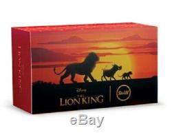 $ 90 Sauver! Steiff Disney The Lion King 4 Pièces Set Cadeau 2019 Ltded 354922 Nouveau