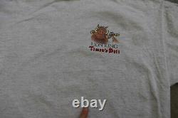 90 Vtg Disney Le Roi Lion Film Deli Timon Point Unique T-shirt XL