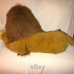 Adult Simba Le Roi Lion En Peluche Douglas Co. Disney 40 Grande Taille Rare 90 De Vintage