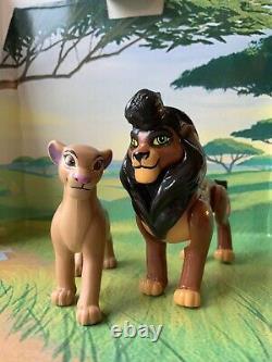 Adulte Kovu & Kiara Custom Figures Lion King 2. Kovu Est Posable
