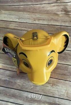 Aladdin Disney Le Roi Lion Simba Lunch Box Vintage Antique Nouveauté Japon