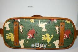 Authentique Parcs Disney Zip Satchel Roi Lion Simba Par Dooney & Bourke