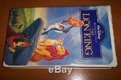 Bande De Film Vhs De La Collection Le Chef De Lion Walt Disney Masterpiece