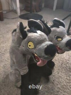 Banzai & Ed 15 Disney Store The Lion King Peluche Peluche Animal Hyena Rare