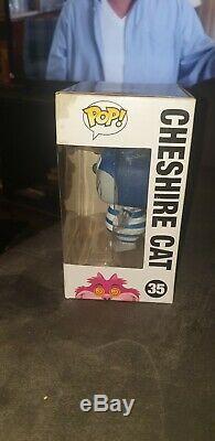 Blue Cheshire Cat Funko Pop Vinyle Sdcc 2012 Rare Disney Grail Limited 1/480