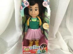 Brand New Disney Pixar Poupée Toy Story Bonnie. Rare Très Recherché
