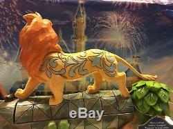 Camaraderie Signée Carefree Disney Jim Shore Le Roi Lion Simba Pumbaa Timon Statue