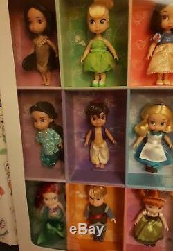 Collection De 15 Mini Poupées Animateurs Disney Par Disney Store 1ère Édition