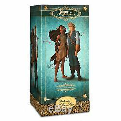Collection De Concepteurs De Contes De Fées Disney Le Pocahontas Et Poupée John Smith 11.5 Po Nouveau
