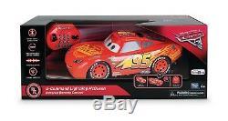 Commande De Voiture Télécommandée U 3 De Disney Pixar Cars Lightning Mcqueen Rc 4 Ans Et Plus