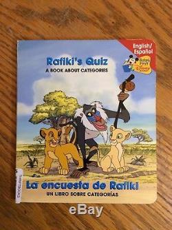 Couverture Du Livre Original Du Roi Lion Sur Rafiki Quiz Disney Cel Background Simba