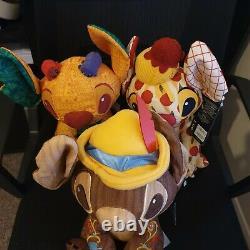 Crashes Disney Stitch Ensemble De 3- Pinocchio, Lady & The Tramp Et Roi Lion