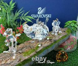 Cristal Swarovski Figurine Disney Le Roi Lion Base Withlog Affichage Sur Le Plateau