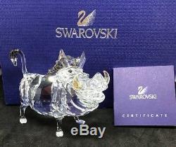 Cristaux Swarovski Elements Disney Le Roi Lion Pumbaa Le Phacochère, Boxed