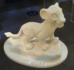Disney A Giannelli Arribas Simba Figurine En Albâtre Figure Nouvelle Le Roi Lion
