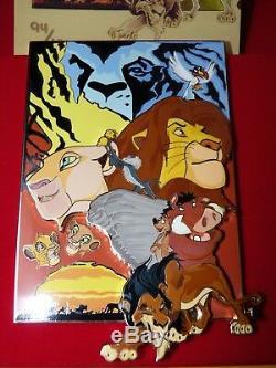 Disney Acme Lion King Le 100 Pin Simba Scar Timon & Pumba