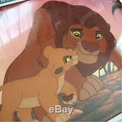 Disney Animation Cel Lion King Art De Production Original Très Rare Anime A49