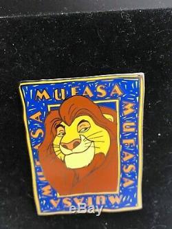 Disney Auctions Mufasa Le 100 Pin King Character Set # 2 Simba Nala Sarabi