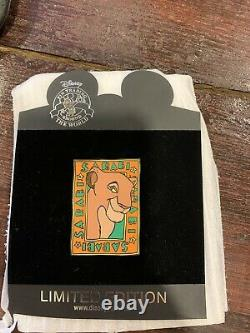 Disney Auctions Sarabi Le 100 Pin Lion King Characters Set #1 Mufasa Simba Nala