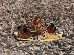 Disney Auctions The Lion King Limited Edition 100 Pin Simba Nala Mufasa Cicatrice