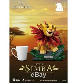 Disney Beast Royaume Le Roi Lion Le Roi Lion Master Craft Petit Simba