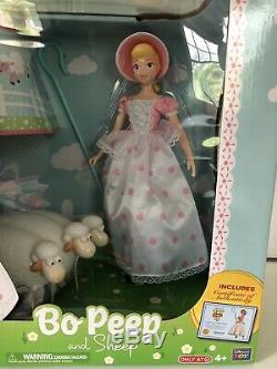Disney Bo Pep Et Sheep Toy Histoire 4 Collection Signature Tout Neuf En Main
