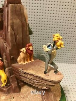 Disney Circle Of Life Lion King 15th Anniversary Statue Figurine /500 Parcs Excl