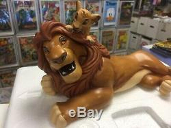 Disney Classics Collection Roi Lion Pals Toujours Tribute Statue Simba Mufasa