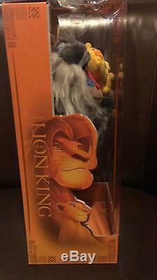 Disney D23 Expo 2019 Le Roi Lion Rafiki Et Bébé Simba Peluche Limited Nouvelle Boîte