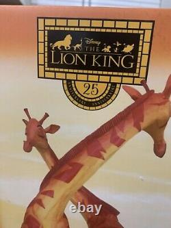 Disney D23 Lion King 25ème Anniversaire Simba Et Nala Figurine Le650 Nouveau