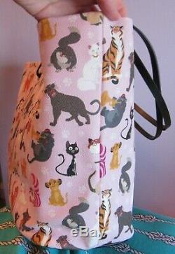 Disney Dooney & Bourke Chats Sac Fourre-tout Figaro Cheshire Cat Roi Lion Simba Lucifer