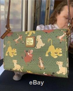 Disney Dooney & Bourke Et Le Roi Lion Simba Nala Bourse Crossbody Parcs Pumba