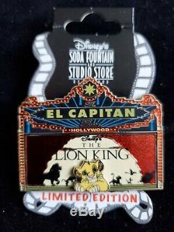 Disney Dsf Dssh Chapiteau Le Roi Lion El Capitan Le 300