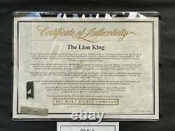 Disney Edition Limitée Cel Lion King Premier Amour /500