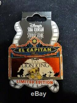 Disney El Capitan Roi Lion Le 300 Chapiteau Pin Dsf Dssh Simba