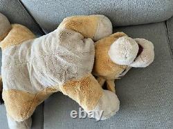Disney Kiara XL Grande Peluche Lion King II Simba's Pride 27 Stuffed Animal Lying