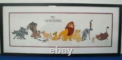 Disney Le Roi Lion Animation Cel Encadré