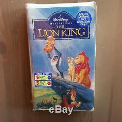 Disney Le Roi Lion / Der König Löwen Masterpiece Limited Edition Ungeöffnet Vhs