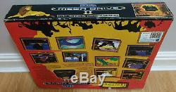 Disney Le Roi Lion Édition Boxed Sega Mega Drive Mark II 2 Console En Vgc